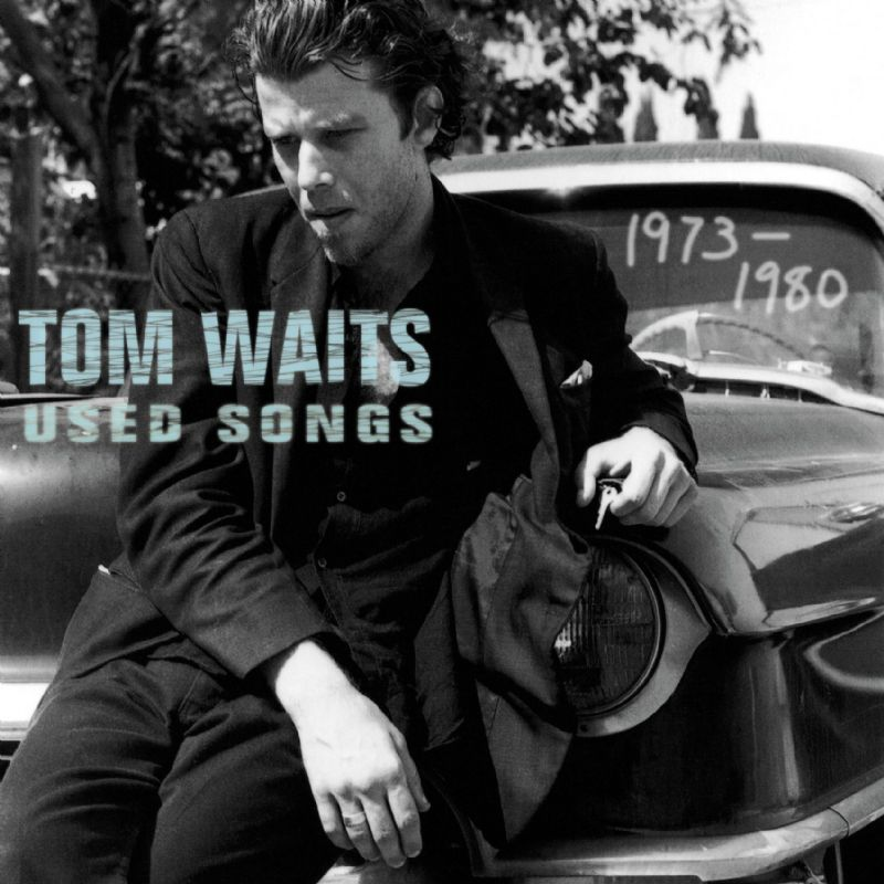 Tom Waits looking young but already slovenly