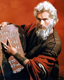 Charlton Heston is my Moses