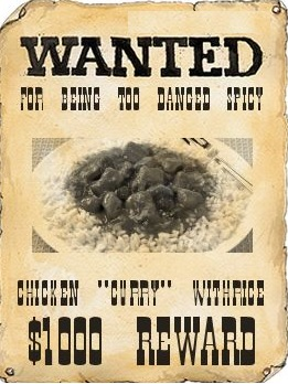 Wanted dead or with a side order of paratha